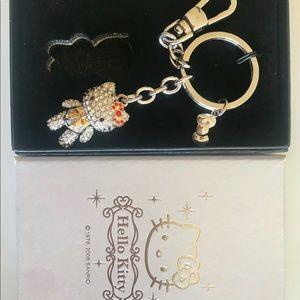 Hello Kitty Rhinestones Keychain